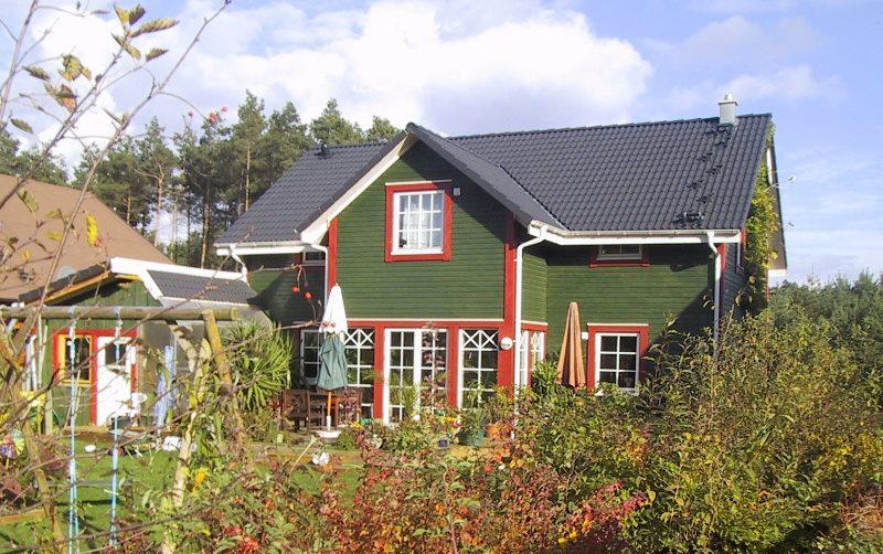 Schwedenhaus grün  Referenzen - Schwedenhaus
