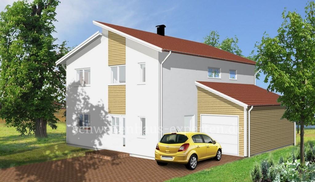 Schwedenhaus modern  Stadthaus Modern - Schwedenhaus